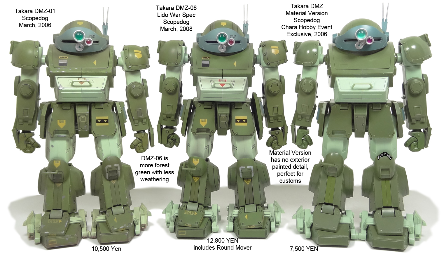 Scorched Earth Toys 187 Takara 1 18 Dual Model Zwei Votoms Toys