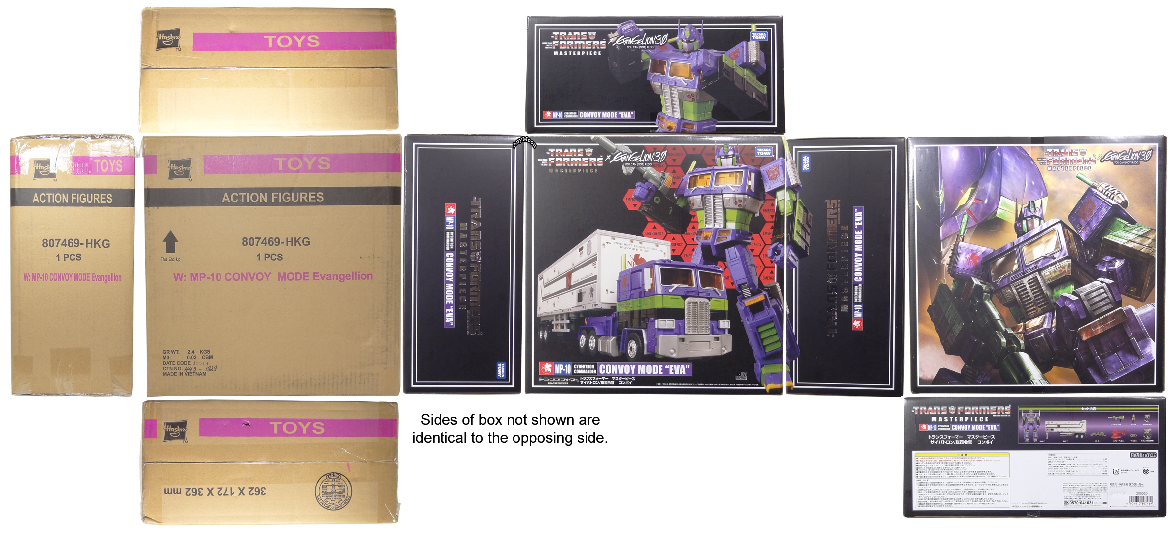 Scorched Earth Toys Takaratomy Hasbro Masterpiece Convoy Optimus Transformers Mp 10 Prime Packaging Extras 4 5 Takara Standard 45 Gift Set You Can Buy With A Trailer Or Some Of The